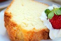 DESSERTS [Pound Cakes]