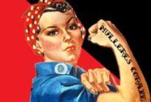 #mullerescoraxe / Selección de materiais que afondan na figura da muller. Un recoñecemento, polo Día da Muller, a todas aquelas que loitaron e seguen a loitar polos dereitos de tódalas mulleres; mulleres dentro e fora literatura, no cine, na ciencia, e en tódolos ámbitos da sociedade.