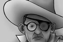 Chámome John Ford e fago pelis do Oeste / Durante o mes de febreiro do 2017 celebramos o aniversario de John Ford (1 de febreiro de 1894 - 31 de agosto de 1973), que tanto aportou ao cine clásico, cunha mostra na Biblioteca Infantil e Xuvenil (Durán Loriga), onde os western e a súa faceta como director cobran todo o protagonismo, sen olvidar que, como gran cineasta, cultivou moitos outros xéneros.