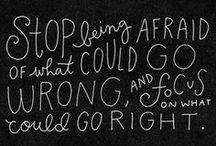 Quotes / by Rheanne Renzenbrink