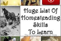 HOMESTEADING / One day we hope to have a place of our own.