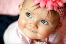 Baby Face~You've Got the Cutest Little .... / Cute babies & toddlers / by Glenda Roslund