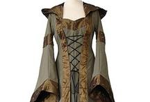 Medieval Dresses (stuff I wish I had a reason to wear)