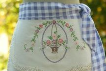 Sewing:  Aprons / I have pinned all sorts of free patterns here / by Georgiann Coons