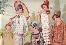 1920s Fashion / by Rebecca Shannon