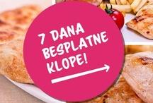 7 dana besplatne klope / by Foodspots
