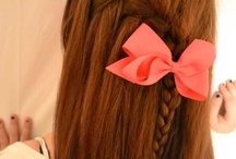 Little Girl Hair Ideas & Bows / by BreOnna Penaflor