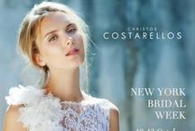 Bridal 2015 / The new Bridal Collection of Christos Costarellos, full of ethereal fabrics, luxurious lace and dreamy designs that combine a contemporary aesthetic with a vintage and bohemian atmosphere.