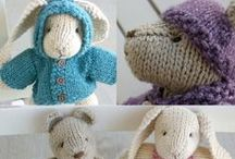 Knit and Crochet:  Toys and Fun / by Georgiann Coons