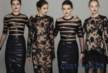 Pre Fall 2016 / For his Pre-Fall 2016 ready-to-wear Collection Christos Costarellos honors the female silhouette and reinvents forms by using mesmerizing materials. Subtle and bold transparencies as well as flawless lace, textured silk and plisse give life to feminine cut pieces, inspired both by Greek tradition and Victorian Era.
