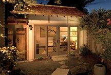 Cottages, Sheds, & Treehouses / Backyard & Garden Spaces / by Dee Justice