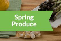 Spring Produce / Here's a list of some of the produce items that are in their peak season and ideas on how to cook them.  / by Peapod Delivers