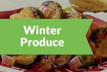 Winter Produce / Here's an idea of what produce is in season for winter, and some ideas on how to cook it.  / by Peapod Delivers