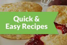 Quick & Easy Recipes / by Peapod Delivers