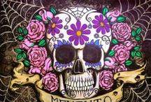 day of the dead- Dia De Los Muertos / by Catherine Rivera