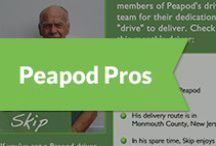 """Peapod Pros / Each month Peapod recognizes a driver for their dedication and """"drive"""" to deliver.   / by Peapod Delivers"""