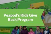 Peapod's Kids Give Back Program / Peapod is helping students learn math and nutrition skills while supporting the local community. / by Peapod Delivers