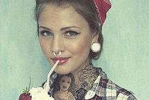 tattoos and piercings :)