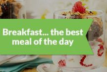 Breakfast...the best meal of the day! / by Peapod Delivers