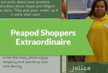 Peapod Shoppers Extraordinaire / by Peapod Delivers