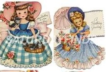 Vintage Greetings Cards 1940-50