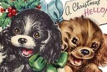 Vintage Christmas Cards 1940-50