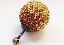 Tutorial Bead Beads / Pattern bead beads, tutorial beaded bead,