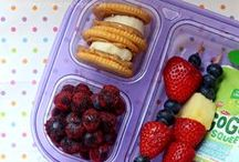 Fun School Lunches / Awesome and creative school lunch ideas that kids will enjoy finding inside their lunch boxes.