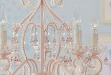Stunning Chandeliers / A wide variety of chandeliers and light fixtures.