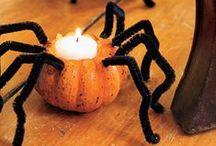 Pumpkins, black cats, skeletons...all make for spooky Halloween fun / by Makinzie Nicks