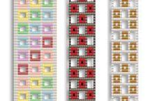 Beading Schemes Bracelets / Tutorial beads bracelets, beaded pattern bracelets, bracelets schemes, pattern bracelets, beads pattern bracelets
