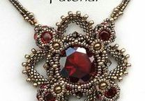 Beading Schemes Necklaces / Seed beads necklace, beaded pattern necklace, tutorial necklace, beads necklace pattern,