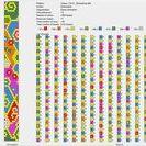 Bead crochet schemes 0-10 / Bead crochet schemes 0-10, rope necklace pattern, crochet necklace pattern, rope pattern,