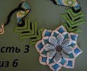 Beaded pattern video / Beaded pattern video, seed beads video, tutorial video jewelry, pattern jewelry video