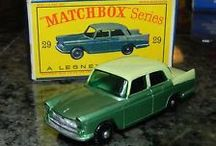 MatchBox Cars of my youth ... / Little vehicles that populated my train set landscape.