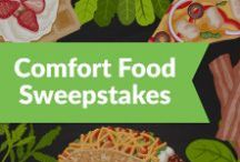 #PeapodComfortFood Pin-to-Win Sweepstakes / Enjoy the last weeks of winter with some of our favorite Comfort Food recipes. From now until March 9th, share what meal you find comforting using #PeapodComfortFood for a chance to win up to $500 in Peapod Gift Cards! Rules here: http://peapd.me/WlCP / by Peapod Delivers