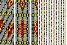 Bead crochet schemes 20-30 / Bead crochet schemes 0-10, rope necklace pattern, crochet necklace pattern, rope pattern,