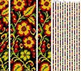 Bead crochet schemes 30-40 / Bead crochet schemes 30-40