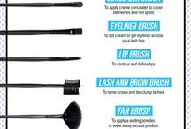 Makeup brushes and how to use them