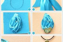 Embroidery jewelry / Embroidery jewelry, pattern embroidery, tutorial embroidery