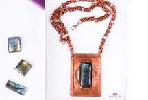 Handmade Copper Jewelry / Handmade jewelry, copper jewelry, copper earrings, copper bracelets, copper necklace and more -  https://www.etsy.com/shop/SzkatulkaAmiJewelry