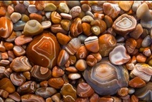 """""""ROCK HOUND"""" / I absolutely love rocks, stones and gems. I admire the beauty and I enjoy having them in my life. Do they have power? Over me they sure do. I love rocks and stones.  / by Nora Scuttlebuzz"""