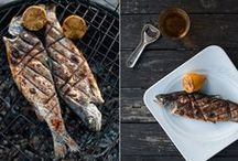 Fish are friends & food / Fish and Sea Food Recipes / by Mirka Parenteau
