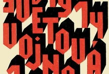 Typography / by Tony R. Carpenter