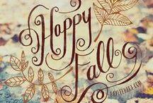 Autumn  / by Allie Kate