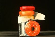 food in art / more art, this time inspired by food / by Bozena Wojtaszek