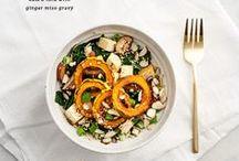 Meals that don't stare back / by Mirka Parenteau