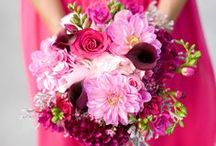 Hot Pink {Wedding} / I just love how this color POPS! / by Better Off Wed