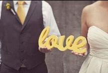 Yellow {Wedding} / by Better Off Wed