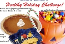 Healthy Holidays Challenge / Pin your #healthyhabits photos to this board for entry into the Healthy Holidays Challenge.